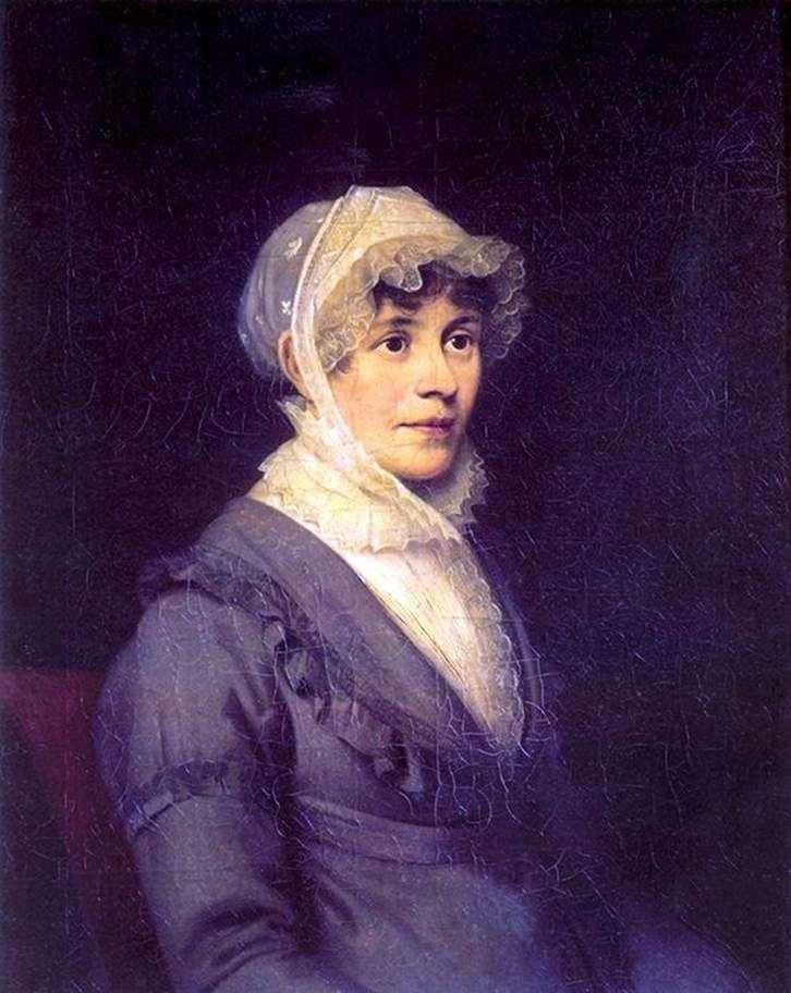 Portret E. P. Rostopchina   Orest Kiprensky