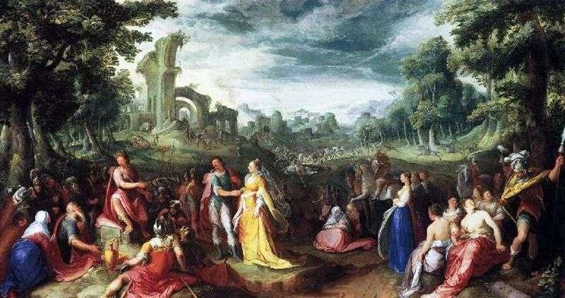 Wielkoduszność Scypio   Karela van Mander