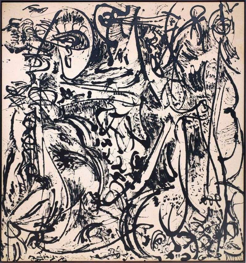 Echo   Jackson Pollock