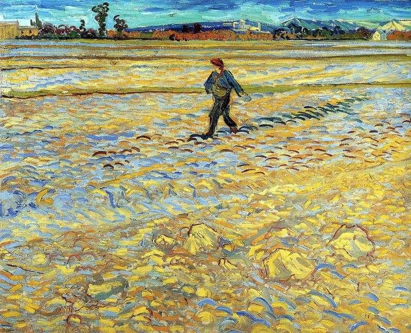 Siewca   Vincent Van Gogh