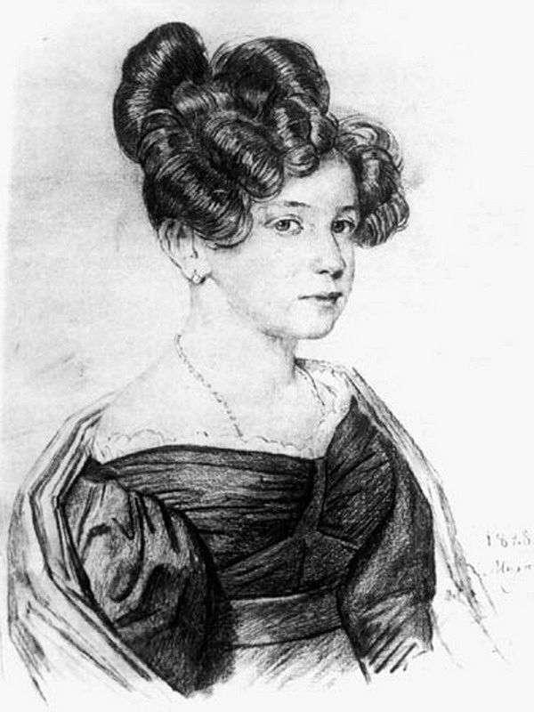 Portret A. A. Olenina   Orest Kiprensky