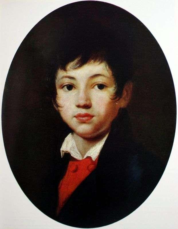 Portret A. A. Chelischev   Orest Kiprensky