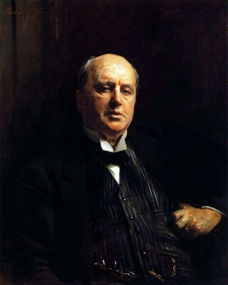 Portret Henry James   John Sargent