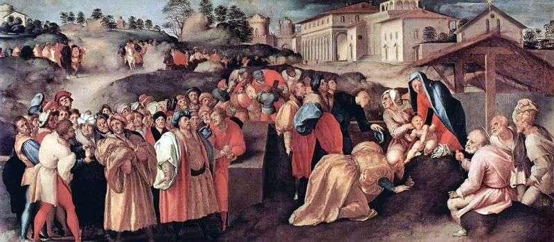 Adoracja Trzech Króli   Jacopo Pontormo