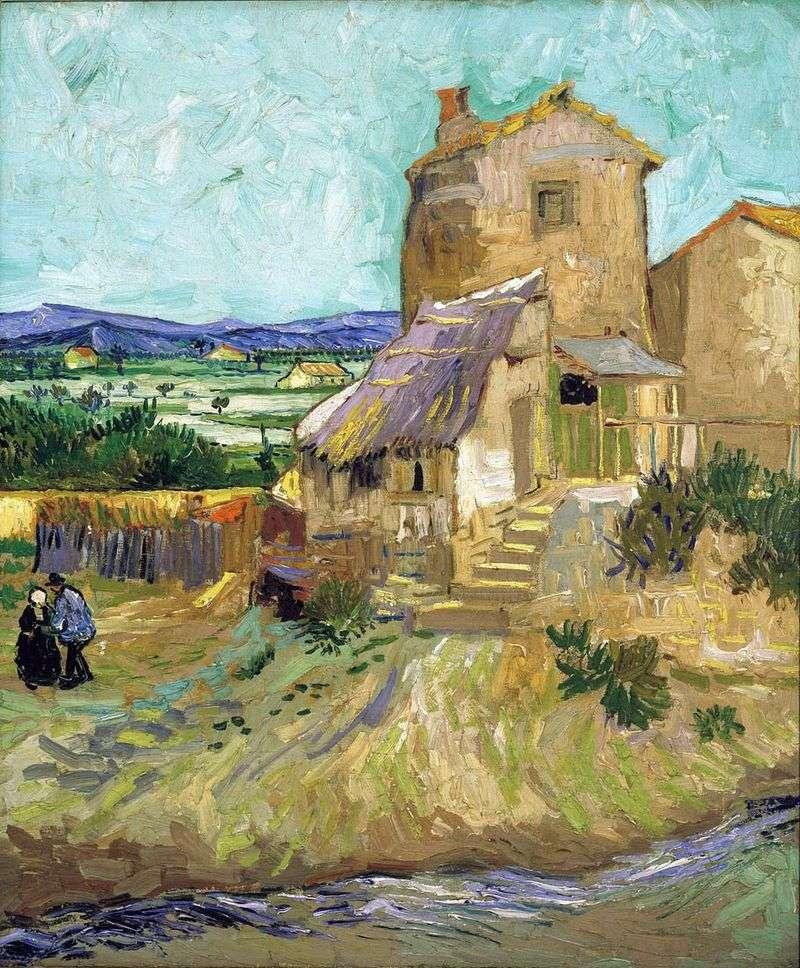 Old Mill   Vincent Van Gogh
