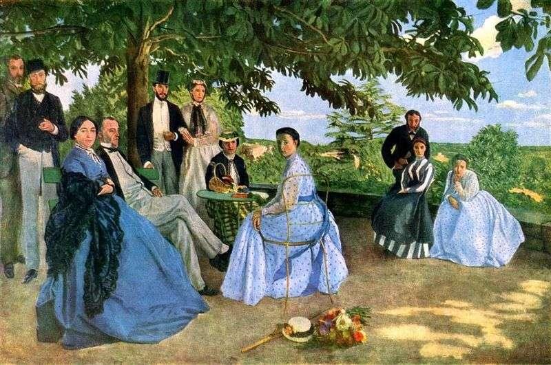 Spotkanie rodzinne   Frederick Basile