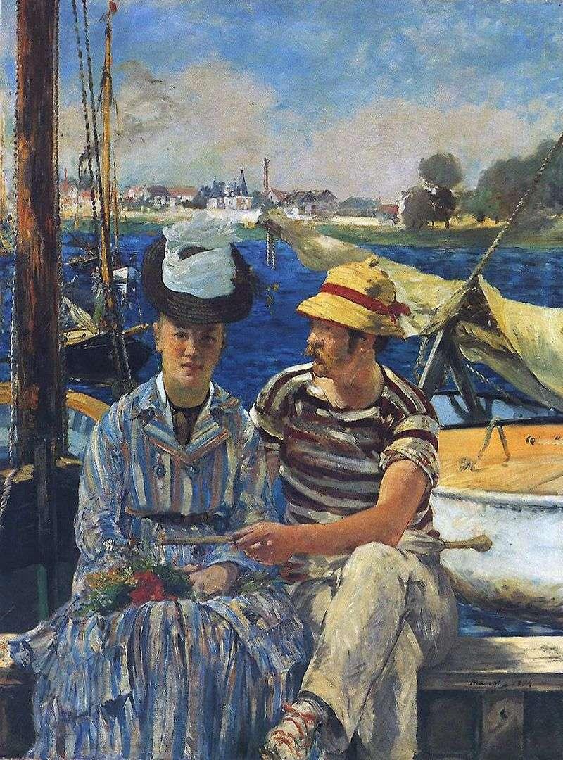 Arzhantey   Edouard Manet