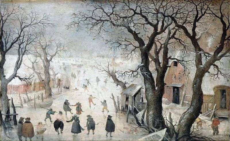 Zima w mieście   Averkamp Hendrick
