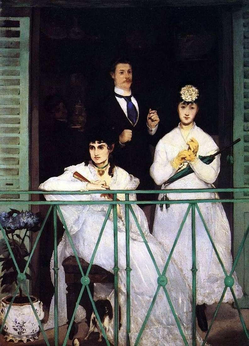 Balkon   Edouard Manet