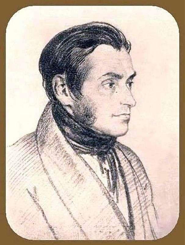 Portret Adama Mitskevicha   Orest Kiprensky