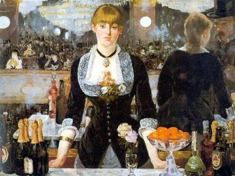 Bar w Folies Bergeres   Edouard Manet