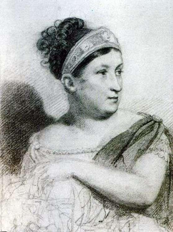 Portret aktorki E. S. Semenova   Orest Kiprensky