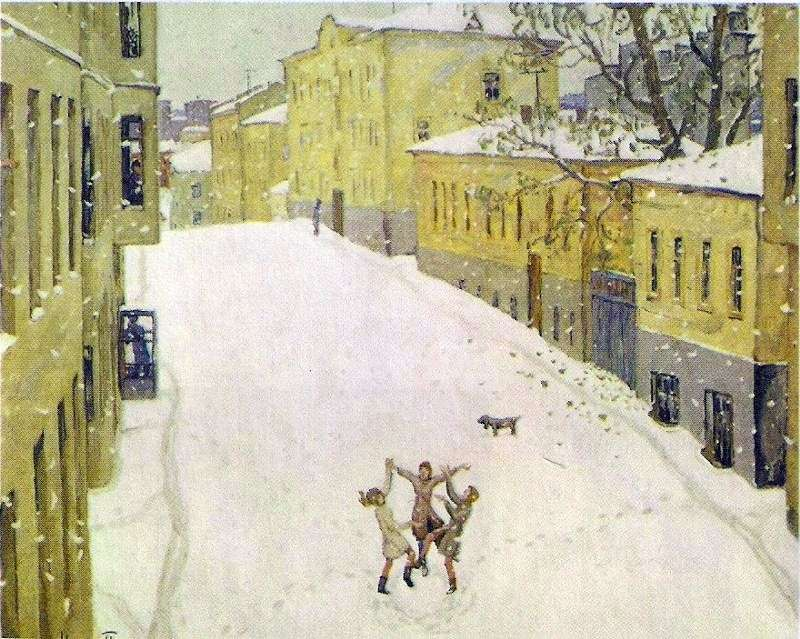 Pierwszy śnieg   Igor Popov