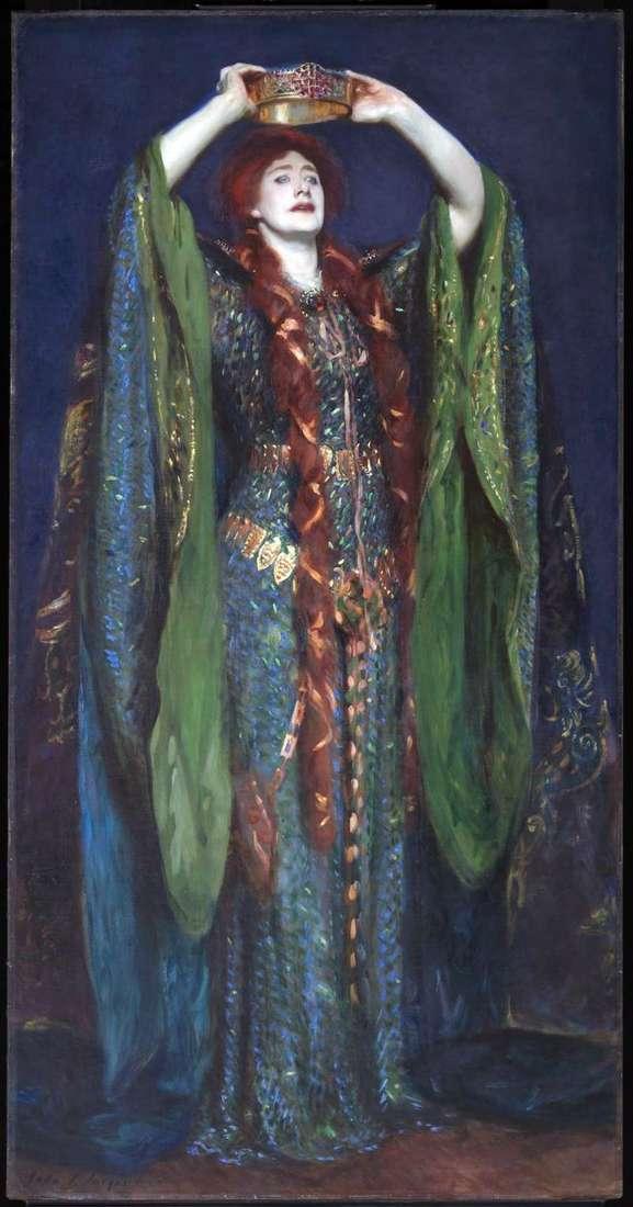 Helen Turn jako Lady Makbet   John Sargent