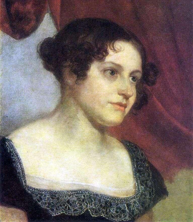 Portret Anny Fedorovny Furman   Orest Kiprensky