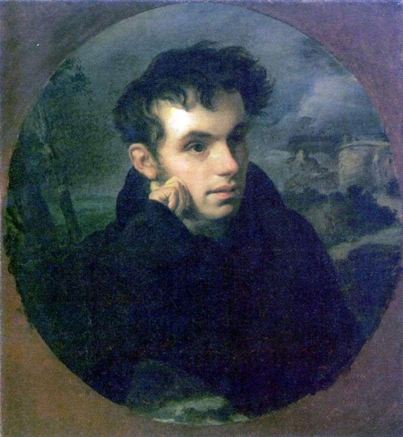 Portret V. A. Zhukovsky   Orest Kiprensky