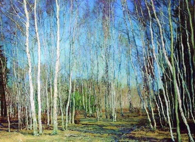 Blue Spring   Wasilij Baksheev