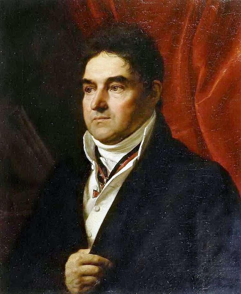 Portret V. Khvostova   Orest Kiprensky