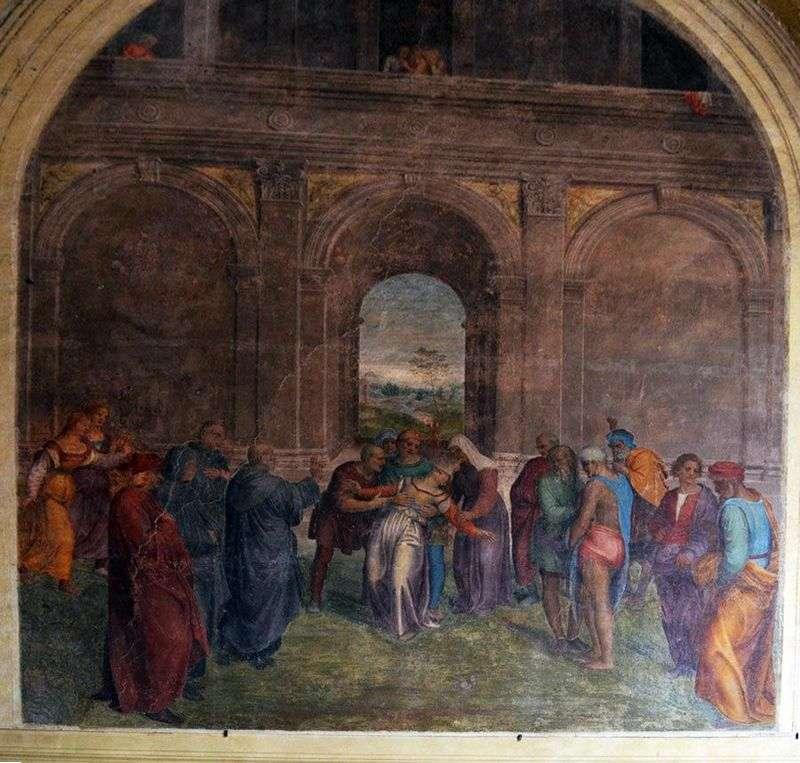 Uzdrawianie opętanych   Andrea del Sarto