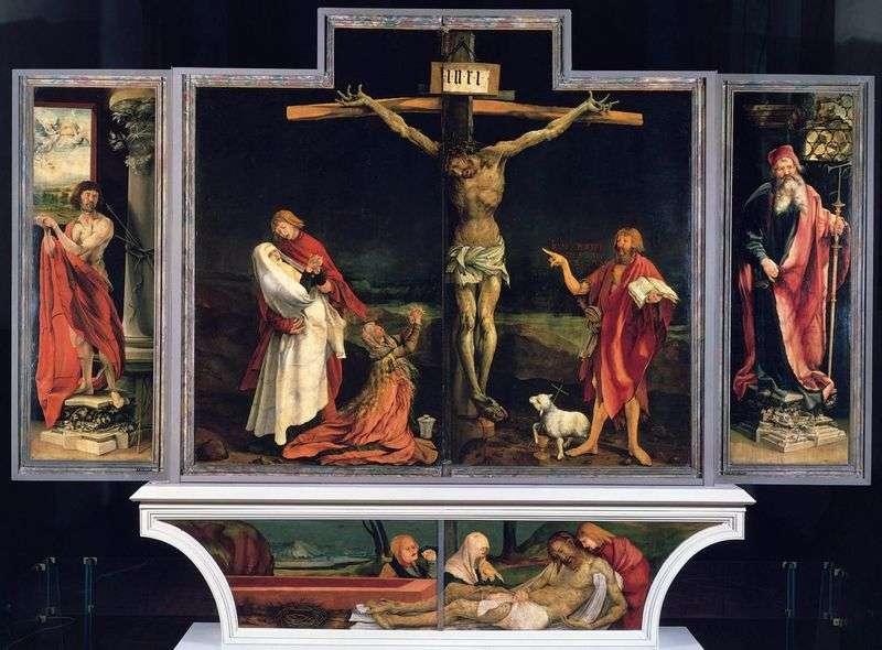 Isenheim Altar, pierwszy zamiatacz   Matthias Grunewald