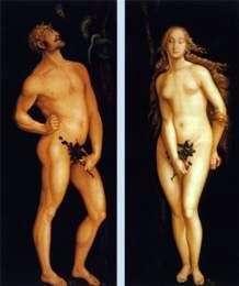 Adam i Ewa   Hans Baldung