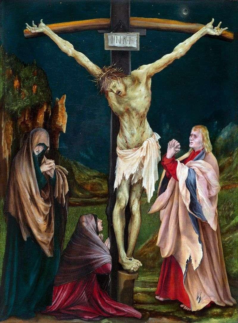 Little Crucifixion   Mathis Grünewald