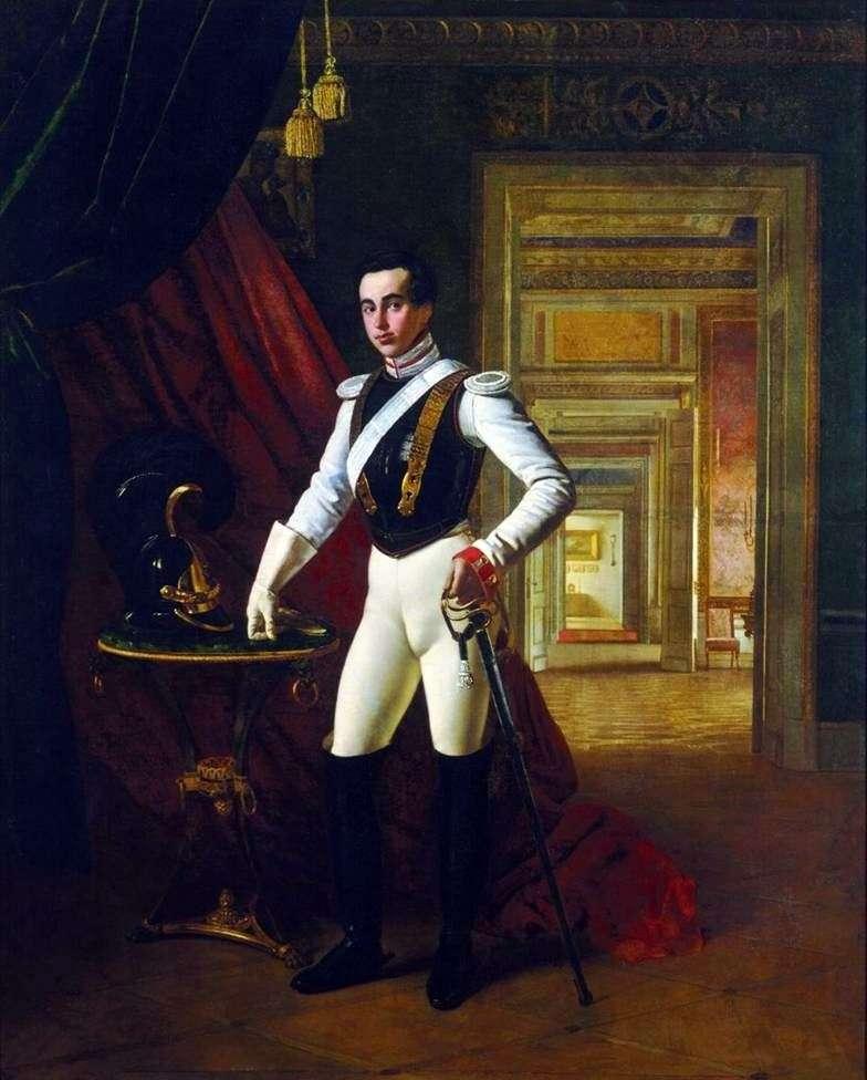 Portret hrabiego D. N. Szeremietiewa   Orest Kiprensky