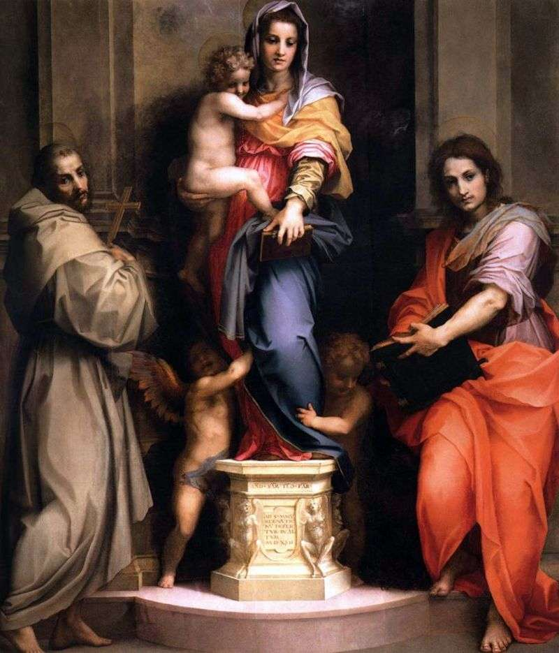 Madonna z Dzieciątkiem   Andrea del Sarto