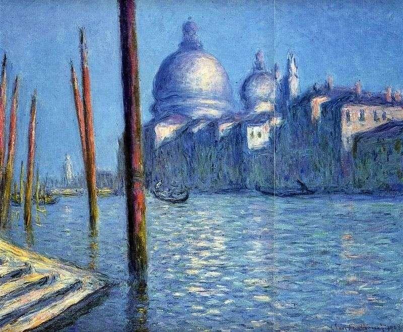 Widoki Wenecji (Canal Grande)   Claude Monet
