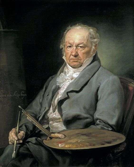 Artysta Francisco Goya   Lopez Porthan