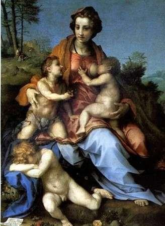 Miłosierdzie   Andrea del Sarto