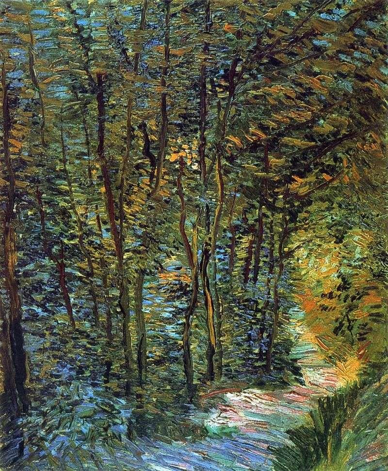 Ścieżka leśna   Vincent Van Gogh