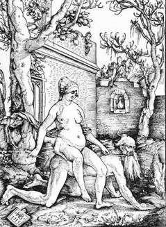 Arystoteles i Phyllis   Hans Baldung