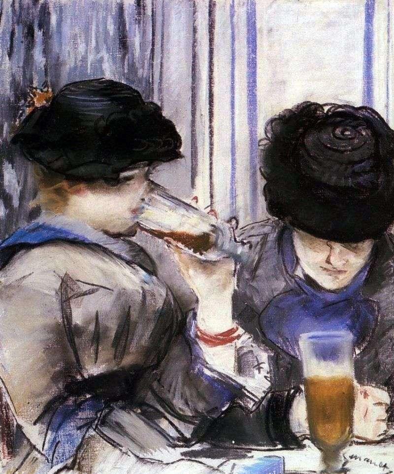 Kobiety pijące piwo   Edouard Manet