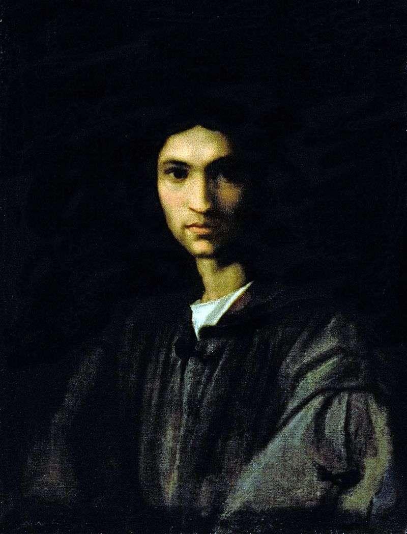 Portret młodego mężczyzny   Andrea del Sarto