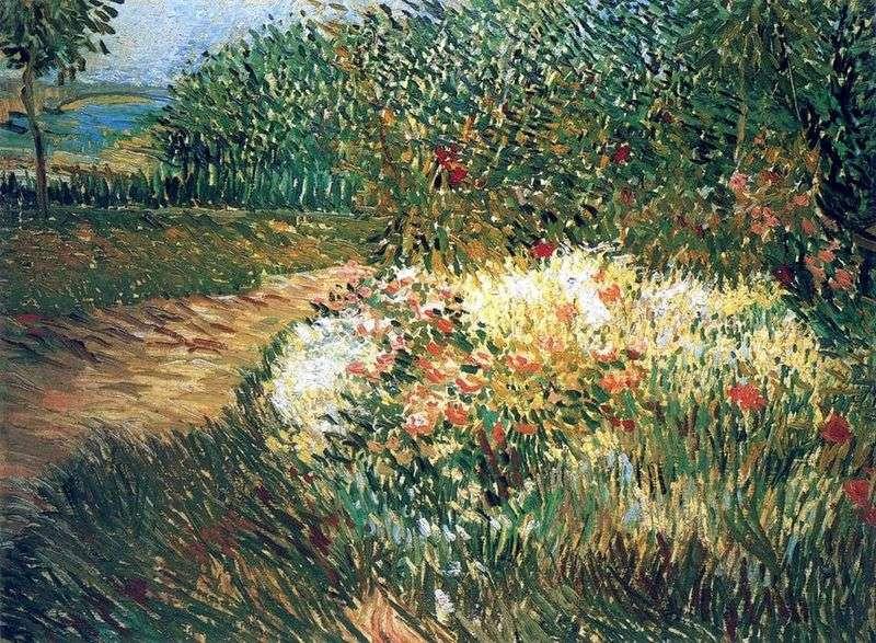 Róg Parc dArgenson in Anyer   Vincent van Gogh