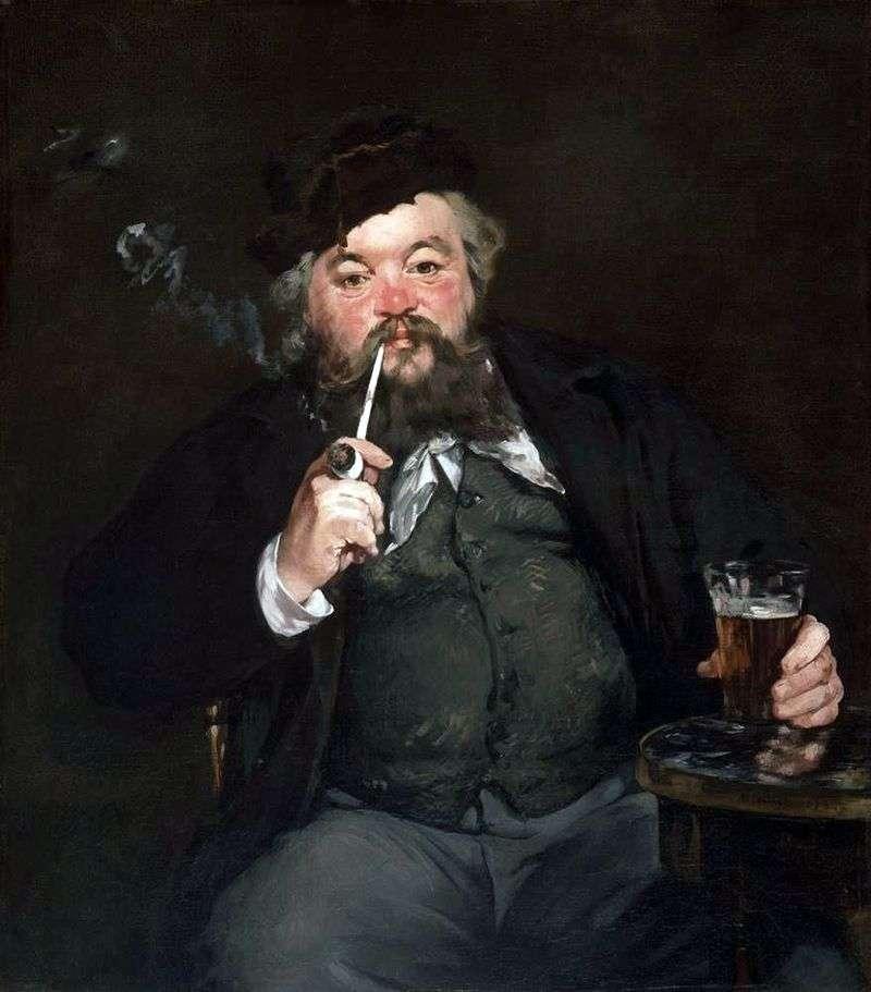 Nad piwem   Edouard Manet