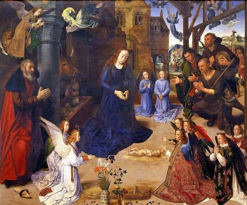Adoracja Pasterzy (Ołtarz Portinari)   Hugo van der Goes