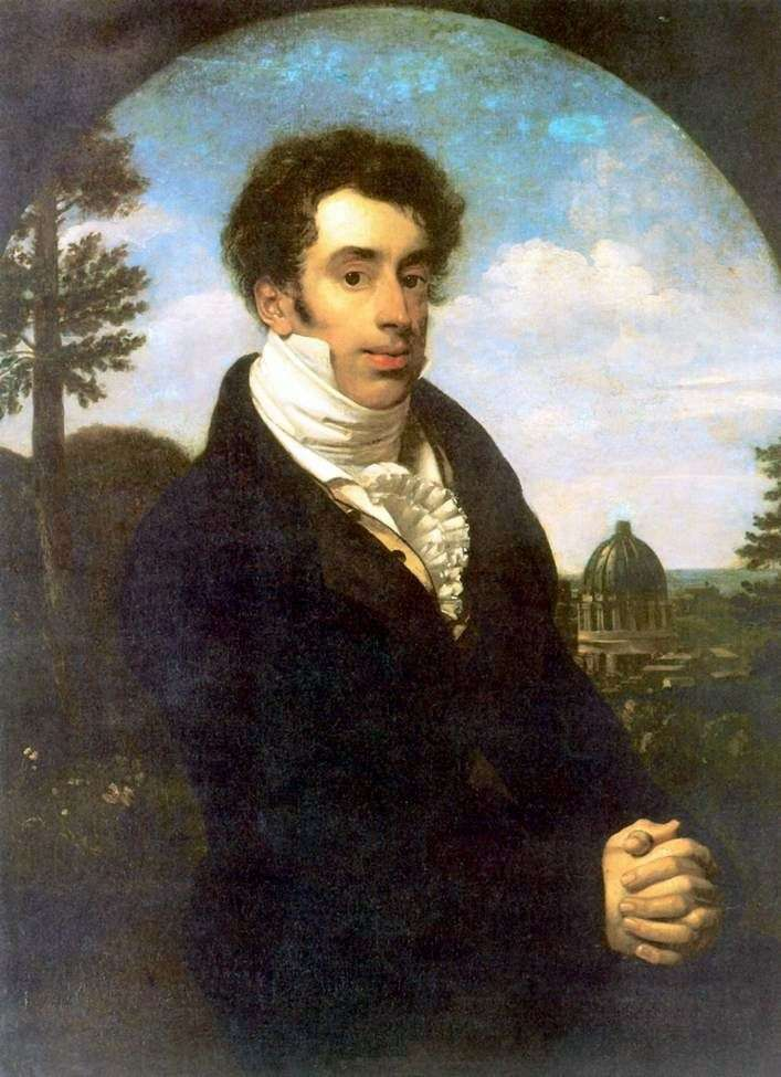 Portret księcia A. M. Glitsyna   Orest Kiprensky