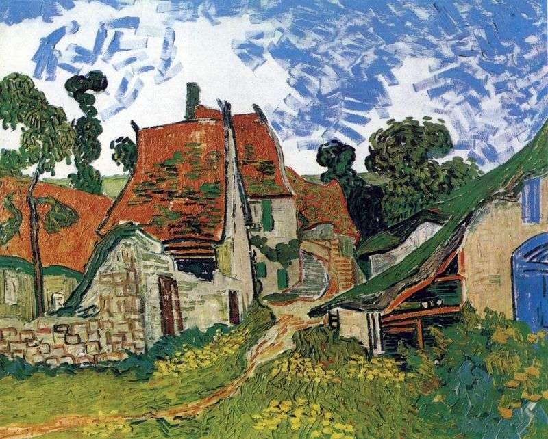 Ulica w Auvers   Vincent Van Gogh
