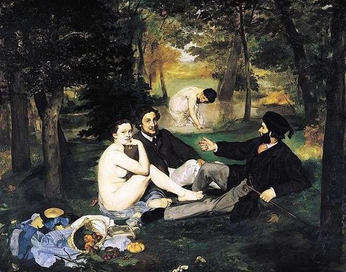 Śniadanie na trawie   Edouard Manet