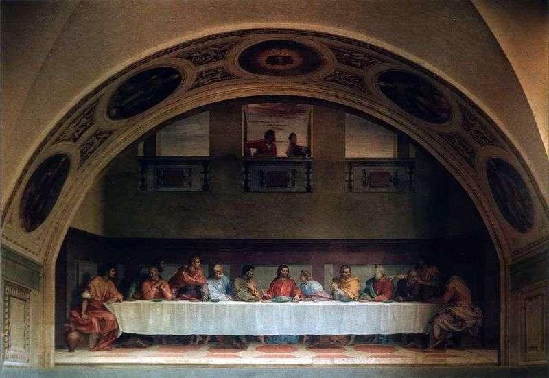 Ostatnia Wieczerza   Andrea del Sarto