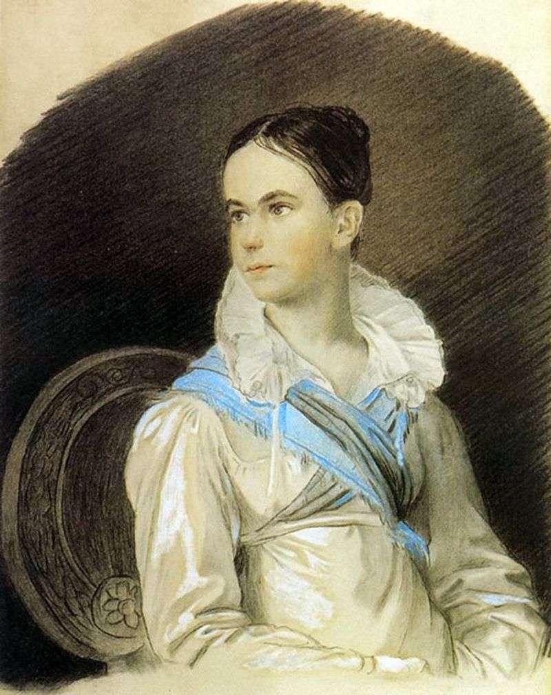 Portret N. V. Kochubey   Orest Kiprensky