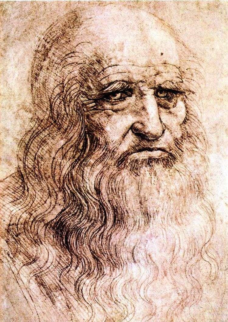 Autoportret   Leonardo Da Vinci