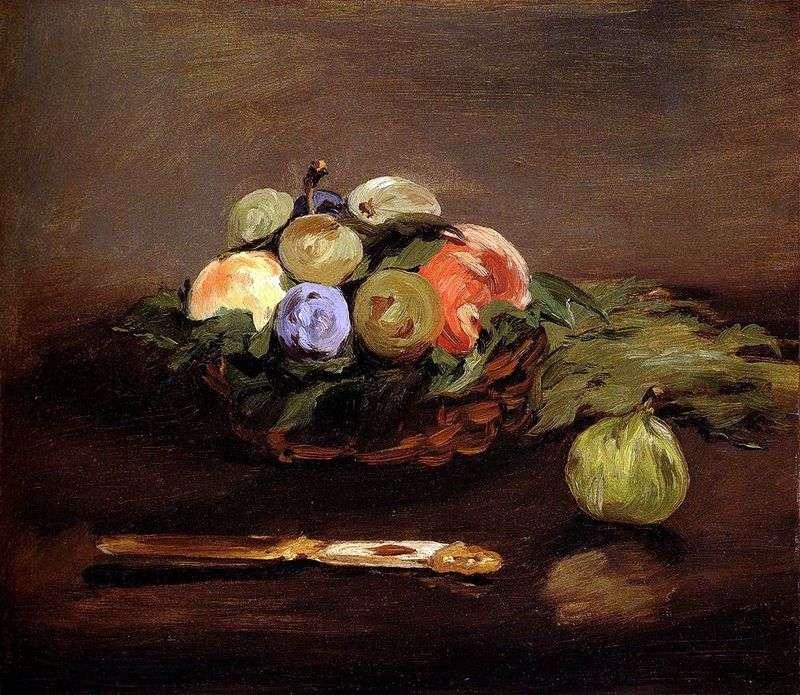 Kosz z owocami   Edouard Manet