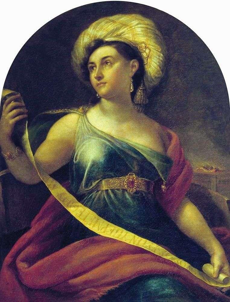 Portret N. S. Semenova   Orest Kiprensky