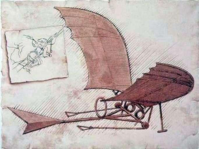 Samolot   Leonardo da Vinci
