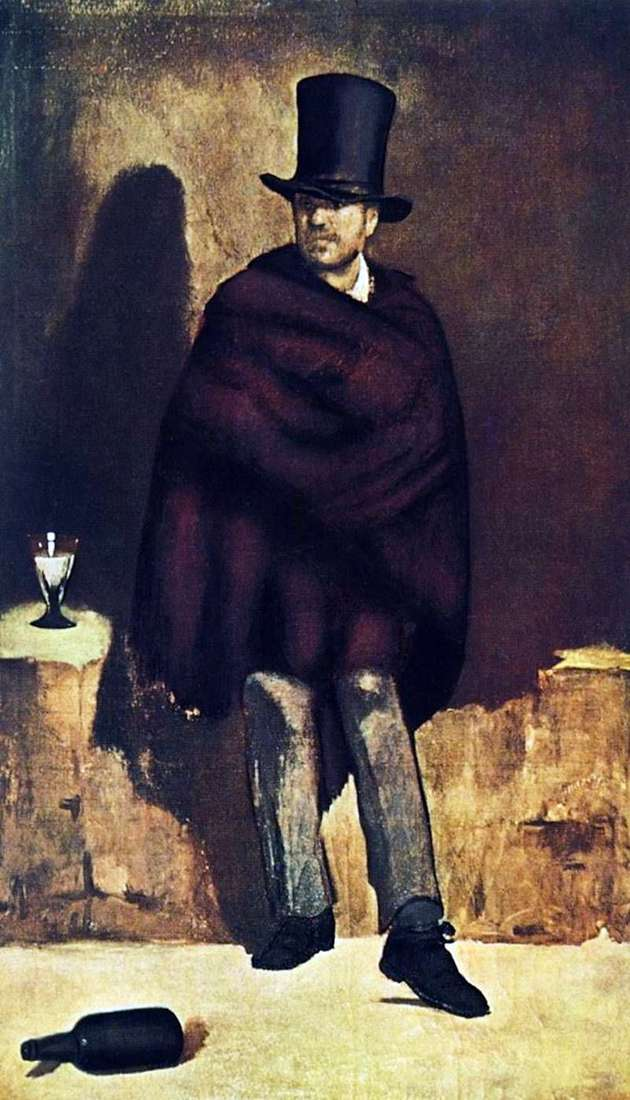 Absynt Lover   Edouard Manet