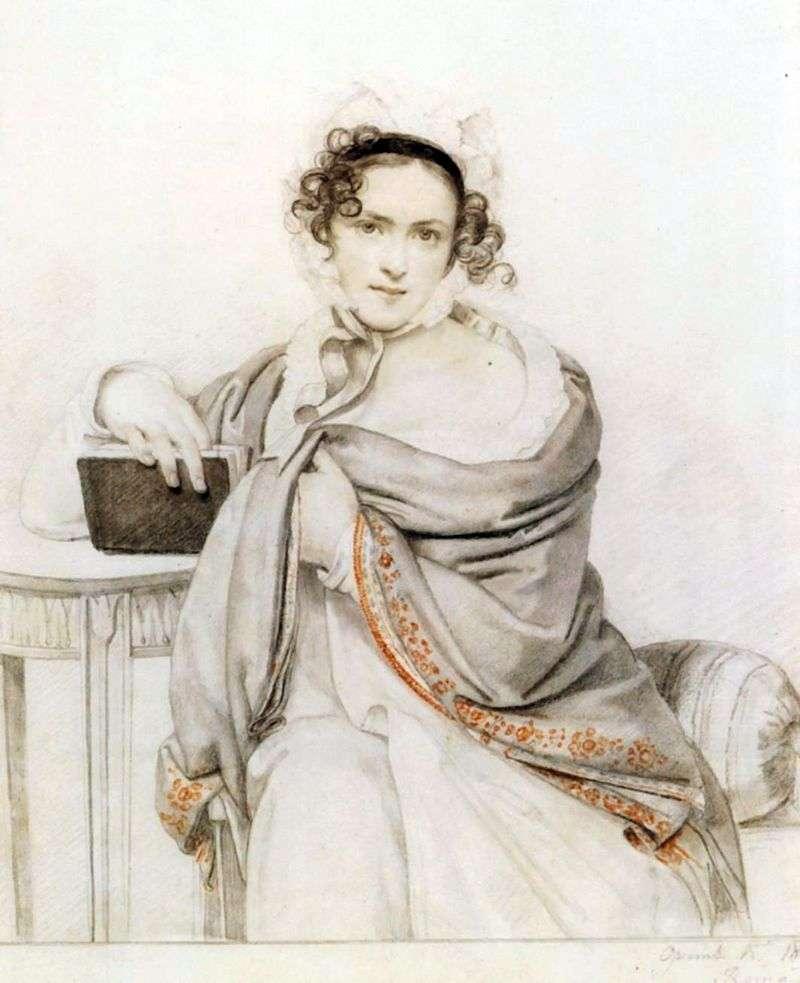 Portret S. S. Scherbatova   Orest Kiprensky