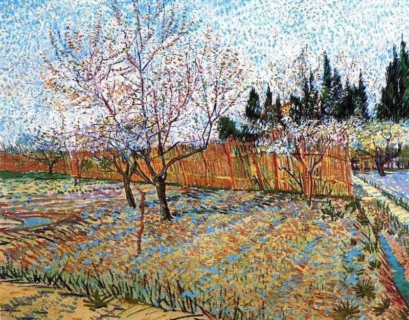 Peach Blossom Orchard   Vincent Van Gogh
